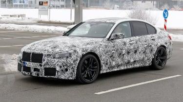 BMW M3 SPY - front quarter