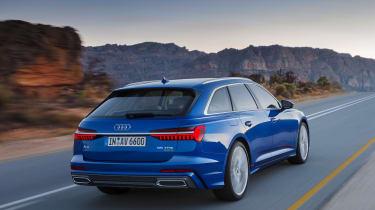Audi A6 Avant launch - rear quarter