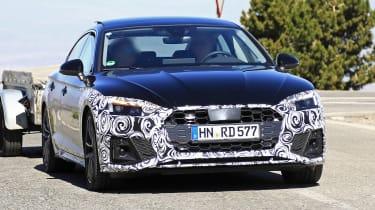 Audi A5 Sportback spy - nose