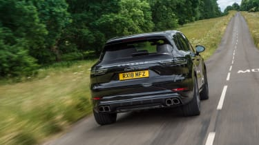 Porsche Cayenne Turbo - Rear