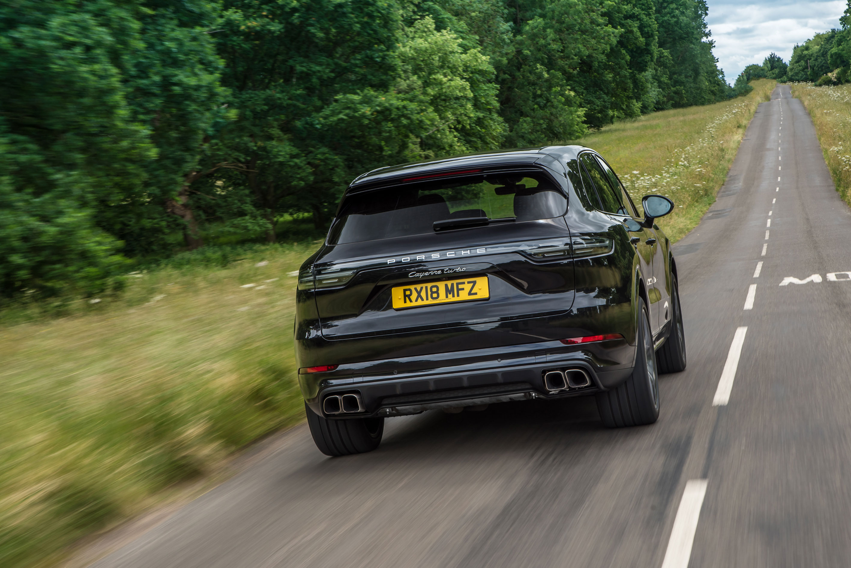 Porsche Cayenne Turbo 2018 Review Behaves Like No Suv Should Evo