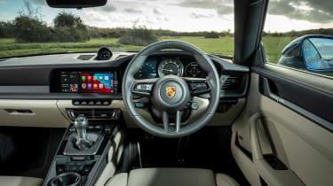 Porsche 911 Carrera S manual interior
