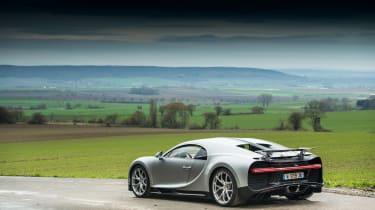 eCoty Bugatti Chiron - rear