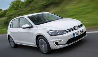 Volkswagen e-Golf - front quarter