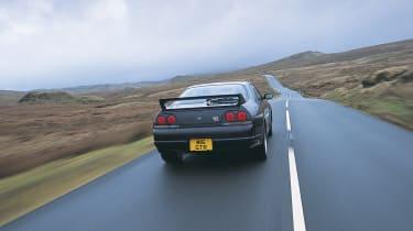 Nissan Skyline R33 GT-R – rear