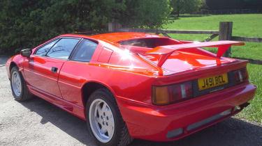 Lotus Esprit Turbo - rear quarter
