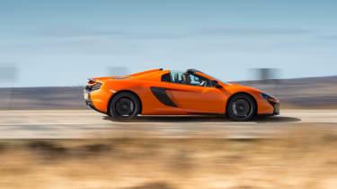 McLaren 650S Spider - side