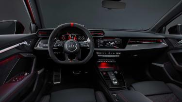 2021 Audi RS3 Sportback –interior