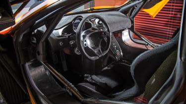 McLaren 12C GT Sprint interior steering wheel