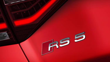New Audi RS5 coupe badge