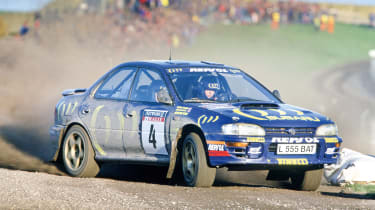 Subaru Impreza WRC 555 Colin Mcrae