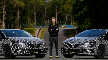 New Renault Sport Mégane and Nico Hülkenberg