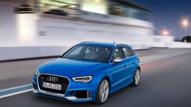2017 Audi RS3 Sportback - front tracking