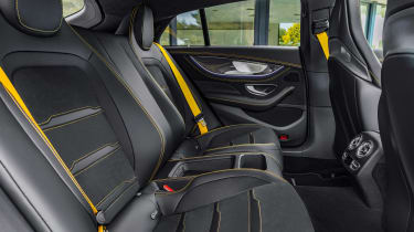 Mercedes-AMG GT 63 S - interior rear