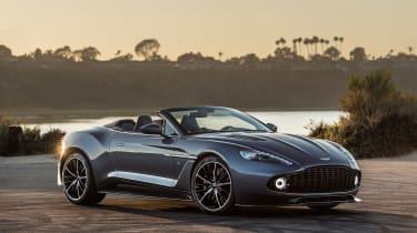 Aston Martin Zagato Volante - front three quarter