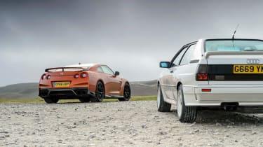 Quattro and GT-R
