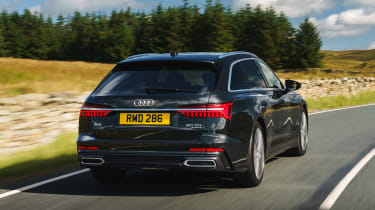 Audi A6 Estate S-Line - rear