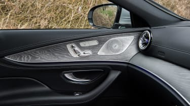 Mercedes-Benz CLS 400d interior detail