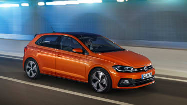 2017 Volkswagen Polo - R-Line front driving