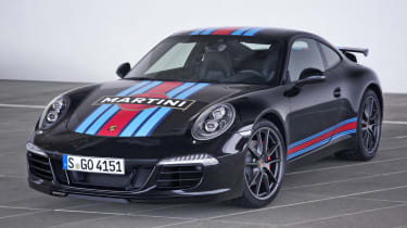 Porsche 911 Martini Racing Edition black