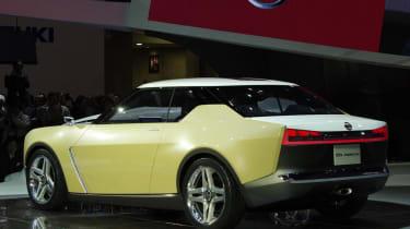 Nissan IDx Freeflow rear yellow
