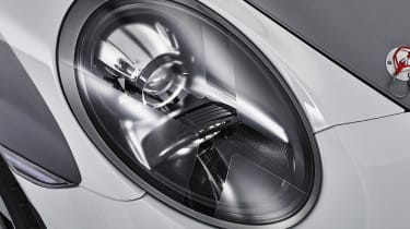 Porsche 911 Speedster - headlight