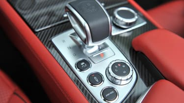 2013 Mercedes SL63 AMG button panel gear selector