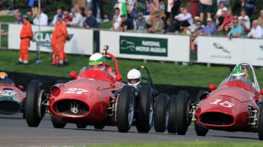 Tough racing
