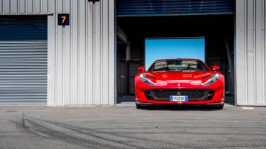 Ferrari 812 Superfast Anglesey - static
