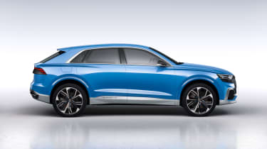Audi Q8 concept side