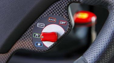 Ferrari 599 HGTE suspension control