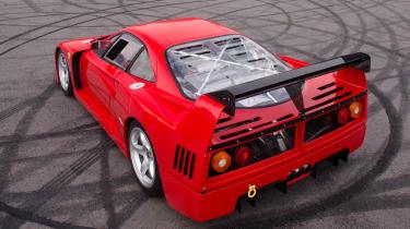 Ferrari F40 LM - rear top