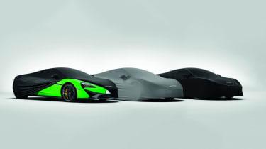 McLaren MSO personalisation packs