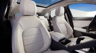 Jaguar E-Pace - driving static R Design seats
