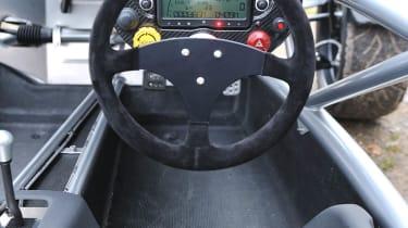 2013 Ariel Atom 3.5 interior steering wheel digital dashboard