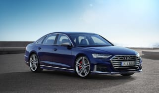 Audi S8 2019 revealed - front quarter