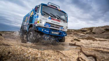 Kamaz truck – Dakar
