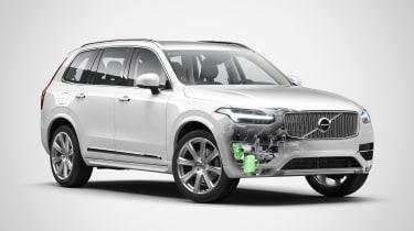 Volvo EV announcement - XC90