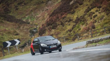 Supermini hot hatch - 208