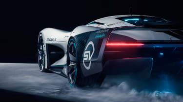 Jaguar Vision Gran Turismo SV Concept - rear