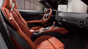 Audi TT facelift - interiopr