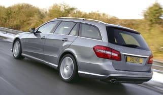 Mercedes E-Class estate rear tracking