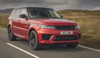 Range Rover Sport red
