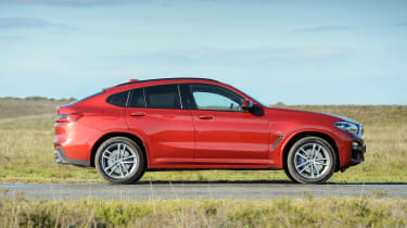 2018 BMW X4 20d drive - side