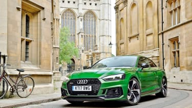 Audi RS5 – front quarter