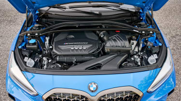BMW M135i review 2019 - engine bay
