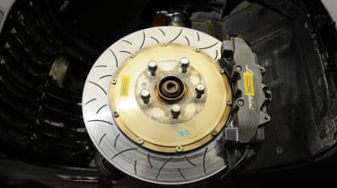 Lamborghini Super Trofeo brake disc and calliper