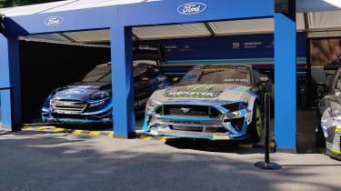 Goodwood 2019 - supercar paddock Ford