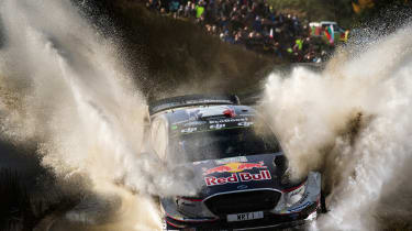 WRC Rally Wales - Ford
