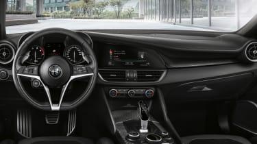 Alfa Romeo Giulia QV NRING - interior